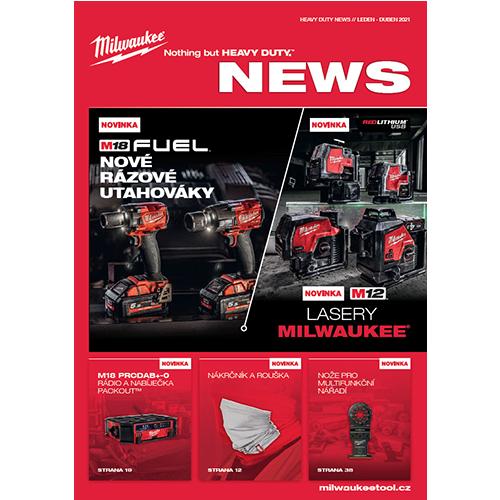 AKCE – nový leták Milwaukee NEWS