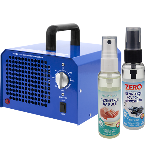 AKCE – sleva 10% na generátoru ozonu 7000mg/h + 2ks dezinfekce ZDARMA!